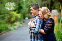 High School Sweethearts Engagement Session
