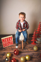 Parker's 3rd Birthday\Christmas Portraits