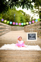 Kiley's 1st Birthday Session