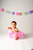 Addy's 1 Birthday Portraits