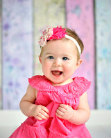 Jamie's Family Portraits/Kinley's 6 Month Portraits