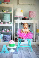 Addie's First Birthday Session