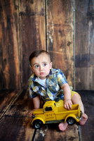 Thomas's First Birthday Portraits