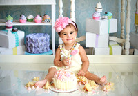 MacKenzie's First Bday Session