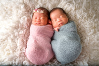 Lynny Newborn Twins Session